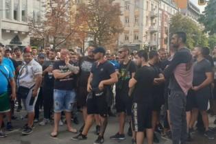 Полицията пусна циганите и яките батки на протеста срещу Гешев ( ВИДЕО )