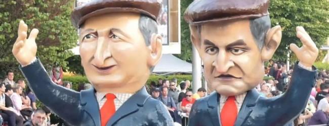 Карнавалът в Габрово не пожали нито Борисов, нито Радев, нито Нинова (снимки)