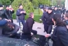 Полицески произвол: Арести и бой при протеста срещу Изборния кодекс ( видео )