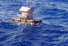 Момче оцеля 49 дена на плаваща рибарска колиба в морето