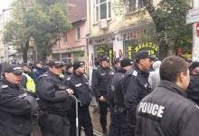 Рунд Втори: Полицаи пак блокираха центъра на София заради протеста срещу Гешев /снимки/