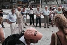 """НА ЖИВО: Национален протест срещу увеличението на тока на площад """"Независимост"""""""