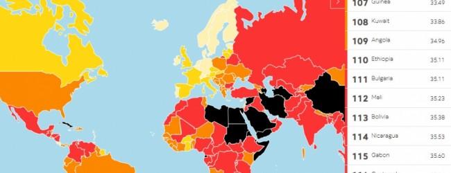 България остава на 111-о място място по свобода на медиите