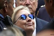 Кандидатката за президент Хилъри Клинтън колабира на церемонията за атентатите от 11 септември