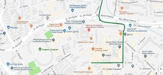 Квартал Левски ще е най-труднодостъпния квартал на Варна.