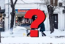 Паралелната реалност на кмета Портних: Малките улички на Варна усилено се чистят от снега!?!