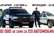 МВР обзавежда българските полицаи с най-луксозните джипове в Европа! Над 110 000 лева ще е бройката