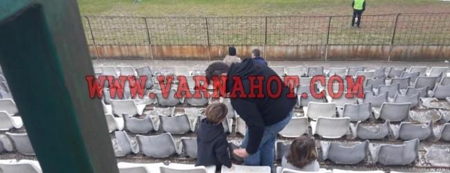 Стадион Тича – потресаващи снимки