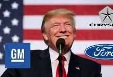 Доналд Тръмп се срещна с водещите американски автомобилопроизводители от Ford, GM и Fiat Chrysler