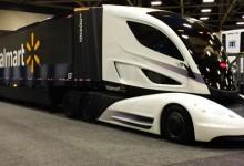 """Walmart представя камион с революционен дизайн """"Jetsun"""""""