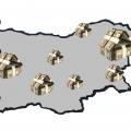 България-карта