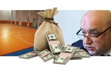 Красен Кралев раздал авансово на новосъздадени фирми 11.5 млн. лв. за ремонти на физкултурни салони