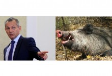 Уволненият шеф на ДАНС Димитър Георгиев задържан за бракониерство!