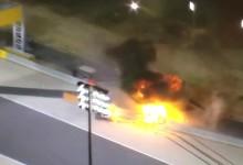 Брутална катастрофа на старта на Formula 1 в Бахрейн (Снимки+Видео)