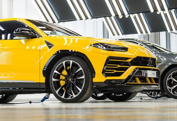 На фона на кризата с недостигa на чипове Lamborghini отчита рекордни продажби