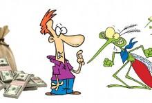 Как ударно се усвоява по герберски: Усвояване на над един милион лева за преброяване на ……. комарите!?!