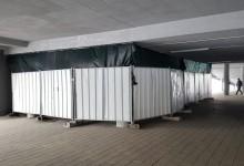 """Работа, работа, работа! След 13 млн.лв., откритата през 2018 г. """"Арена Шумен"""" вече е за основен ремонт"""