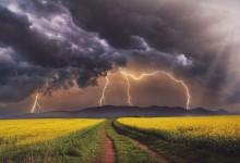 Времето: Гръмотевични бури и валежи