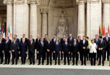 Днес 60 години след създаването на Евросъюза 27-те държави членки подписаха Декларацията от Рим