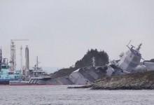 Норвежска бойна фрегата потопена от …………. петролен танкер