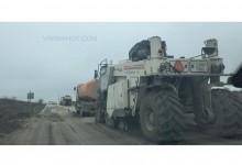 Започна ремонт на пътя от Аксаковска панорама към Куманово. Карайте с повишено внимание