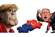 Меркел втвърди тона към турския президент Ердоган