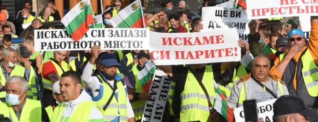 Работници в пътния бранш без заплати се оказа, че няма