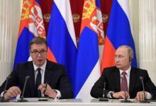 Путин и шефа на Газпром на посещение в Сърбия