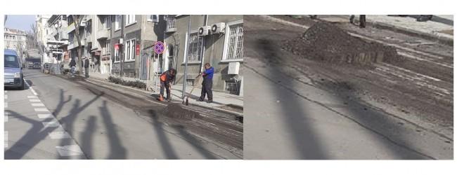 """Безумията във Варна: Засега само трети ремонт на ремонта на улица """"Михаил Колони""""!"""