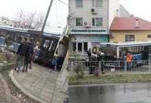 Катастрофа с тежко ранени с автобус във Варна!