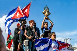 Хиляди хора излязоха на протести в Куба