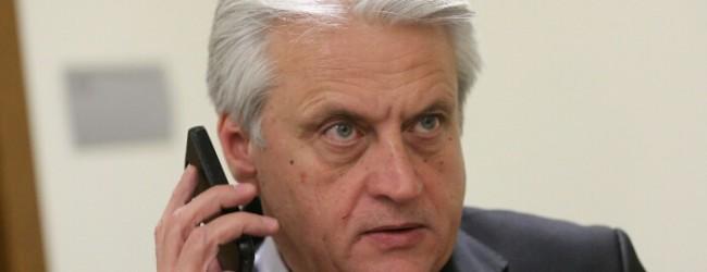 Бойко Рашков даде Иван Гешев на шефа на Следствената служба Борислав Сарафов