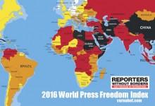 България е чак на 113 място по свобода на словото! На 11 места сме след Уганда!