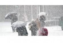 Жълт код за вятър и сняг в 28 области