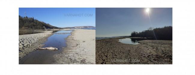 Река Камчия пресъхва! Вече не се влива в Черно море (СНИМКИ И ВИДЕО)