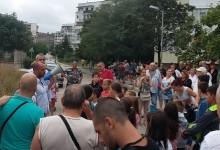 Протест в квартал Кайсиева градина против незаконното строителство