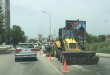 Пореден авариен ремонт на ВиК на бул. Цар Освободител под Кауфланд