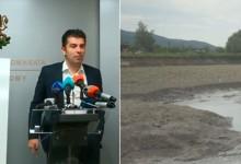 """3 от 3: Министър Петков провери още два """"ремонтирани"""" язовира. И те са празни"""