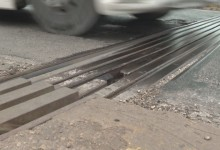 Видимите резултати: Ремонтираната фуга на Аспарухов мост отново даде фира!
