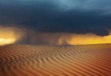 Кафяви дъждове носят пясък от Сахара
