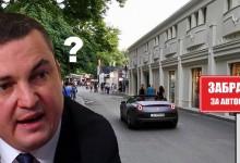Портних забрани леки автомобили да се движат по алея първа! За Ферарита явно забрана няма! Кмете?