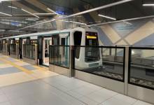 Само 5 месеца след откриването пропадна новия трети лъч на метрото!