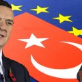 turkey-flag-and-eu-flag-eu-negotiation-of-accession-with-turkey-DEYG6K